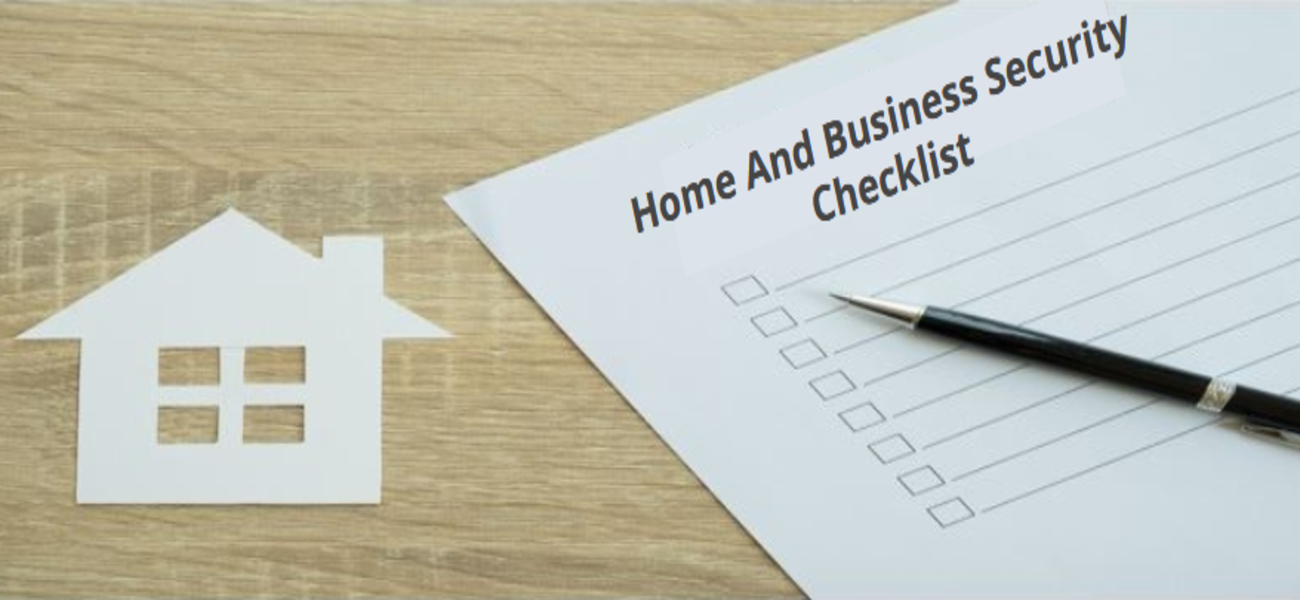 Home And Business Security Checklist